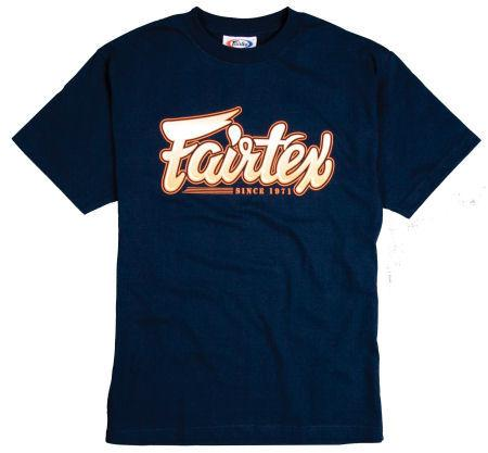 Fairtex Navy Fairtex Tee